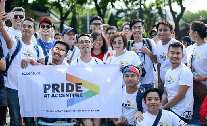 Accenture at Philippines Pride © Accenture
