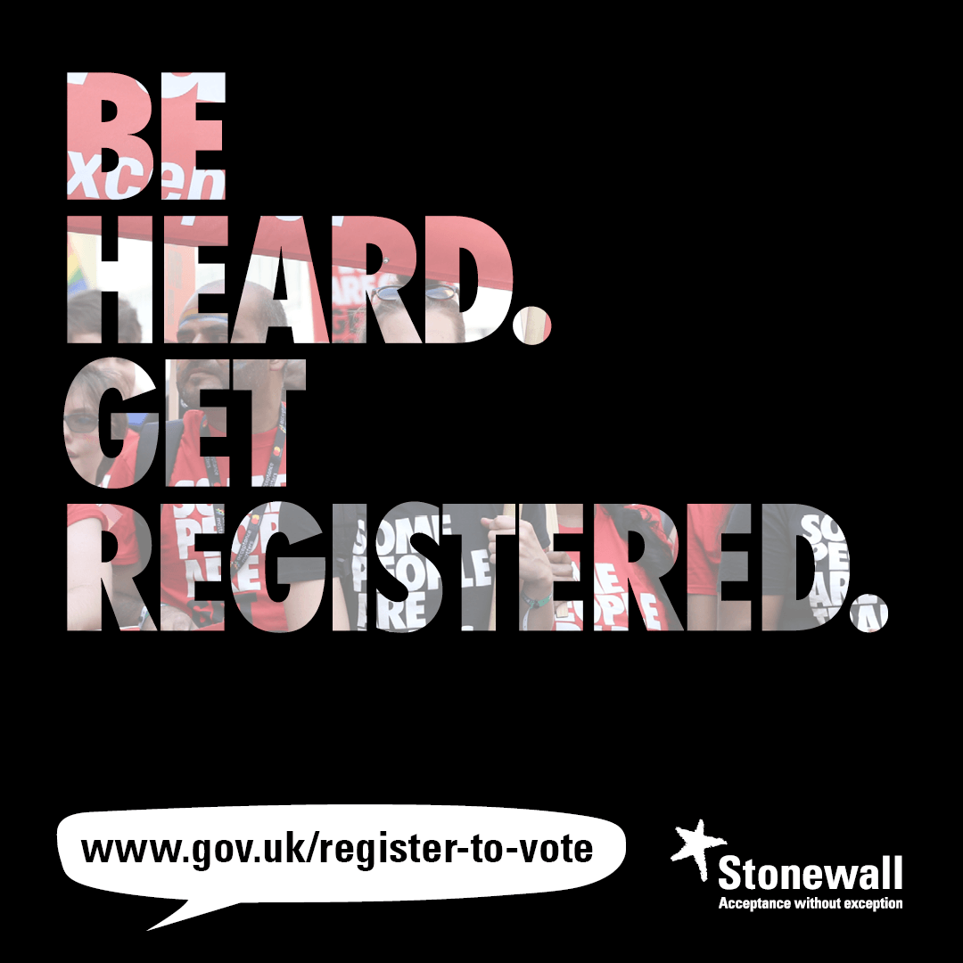 Be heard. Get registered.