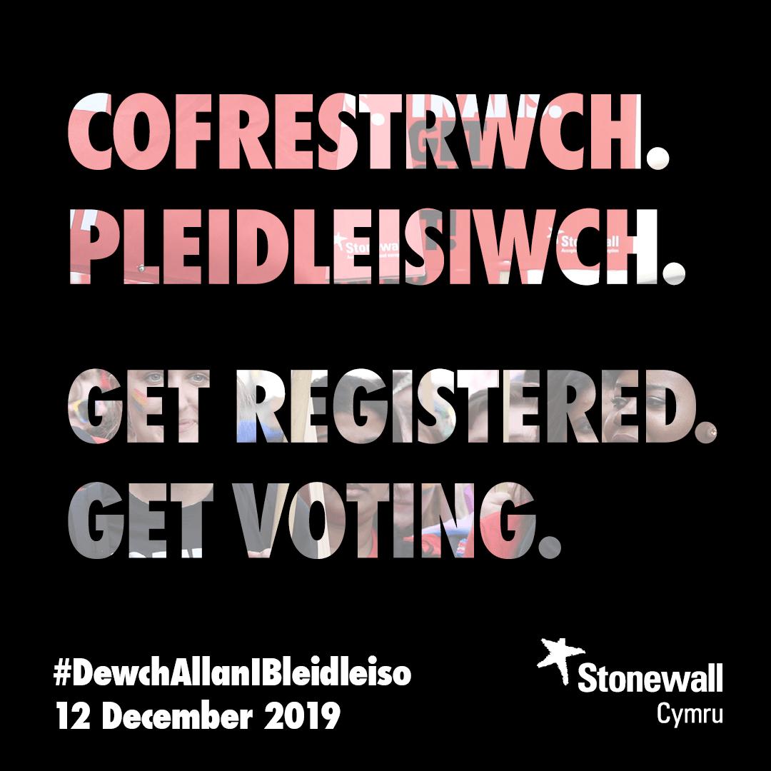 Get registered. Get voting.