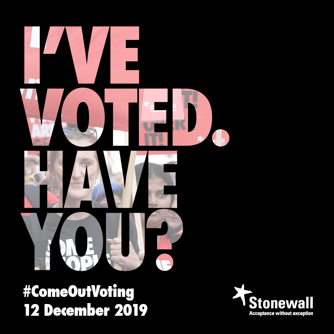 I've voted. Have you