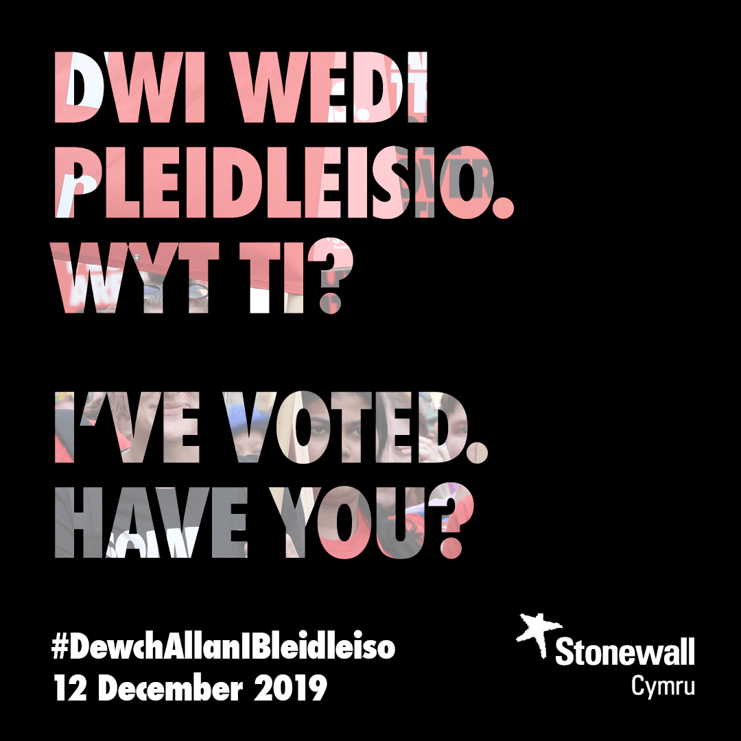 I've voted. Have you?