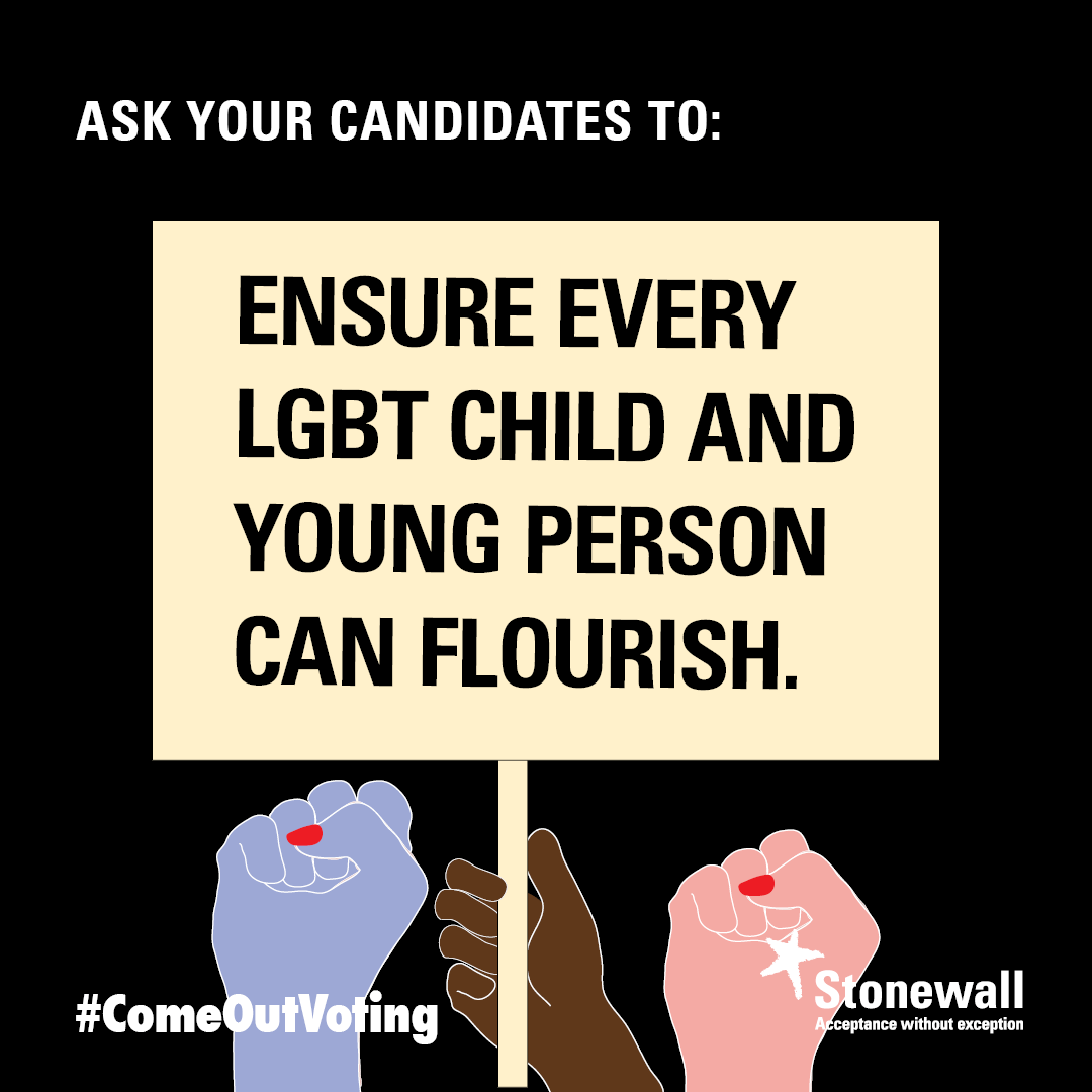 Ensure every LGBT child and young person can flourish