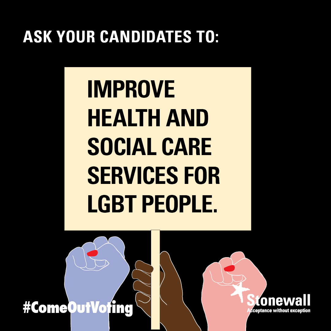 Improve health and social care services for LGBT people