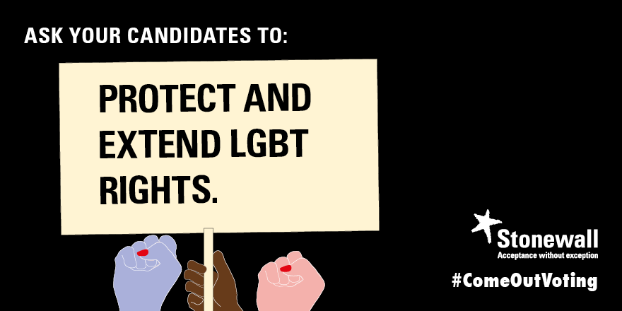 Protect and extend LGBT rights