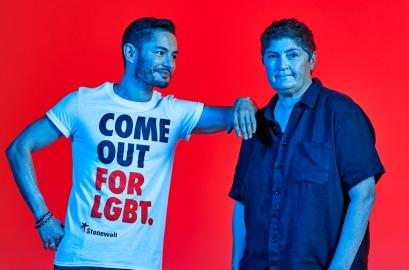 Come Out For LGBT - Jake Graf and Linda Riley
