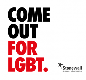 Come Out For LGBT logo
