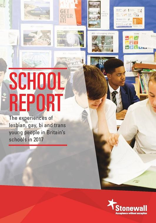 The School Report (front cover)