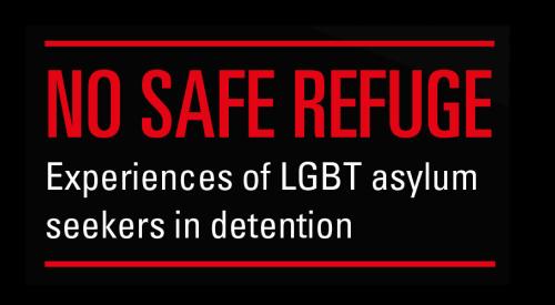No Safe Refuge (report cover)