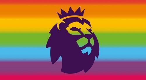 Premier League rainbow logo