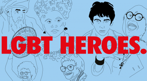 LGBT History Month banner