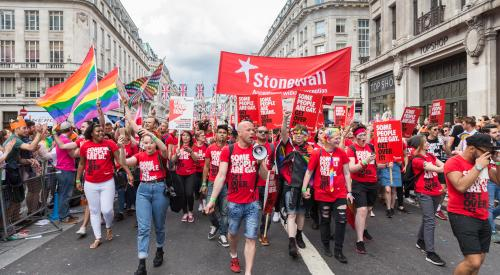 London Pride 2016 - front of the march 2
