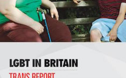 LGBT in Britain - Trans Report front cover