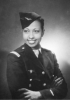 Josephine Baker wearing military uniform